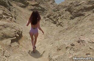 पृष्ठभूमि में समुद्र तट पर स्पेनिश नग्न महिलाओं बीपी फिल्में सेक्सी