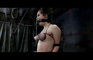 गुलाम charlotte घाटी गुदा cocek जंजीरों में