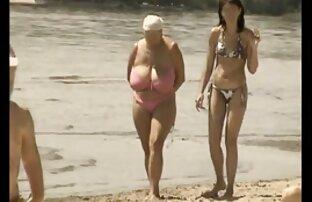 समुद्र तट पर विंटेज बड़ा मिश्रण, कामसूत्र सेक्सी फिल्म